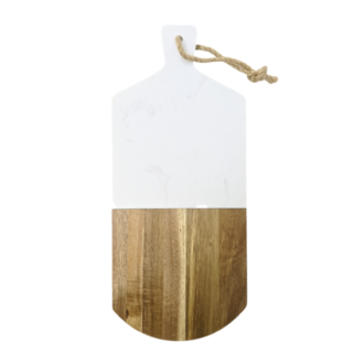 Bordeaux Personalized Serving Cutting Board with Hanging Rope